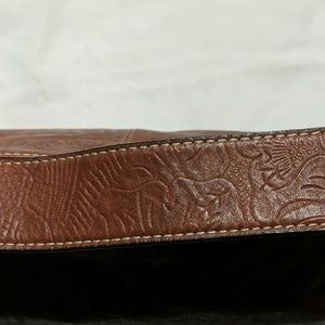 NWT Antonio Melani Leather Handbag